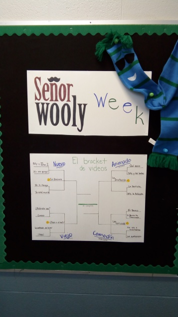 Bulletin Board of Señor Wooly Bracket